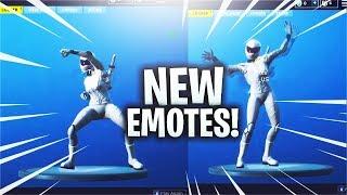 *NEW* EMOTES IN FORTNITE (LEAKED)! - Fortnite V5.2 Emote GAMEPLAY! (Fortnite New LEAKED Emotes)