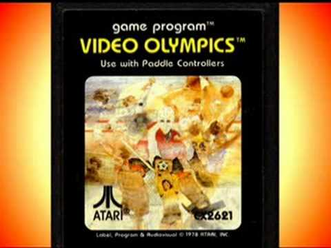 Classic Game Room - VIDEO OLYMPICS review for Atari 2600