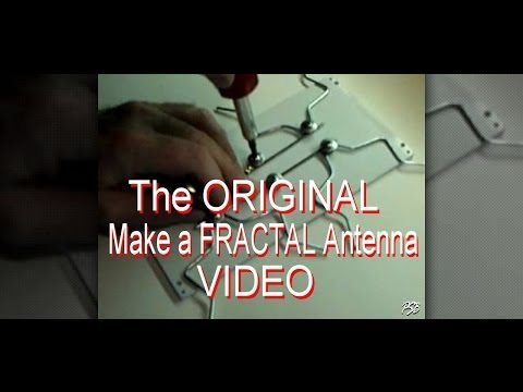 Make a Fractal Antenna for HD + Digital TV ( 1 of 4 )