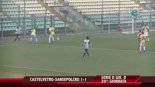 Serie D Girone D Castelvetro-V.A.Sansepolcro 1-1