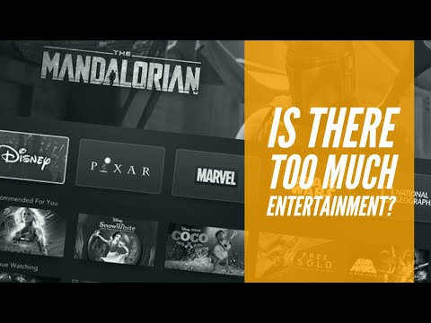 Do We Have Too Much Entertainment? - Elseworlds Exchange