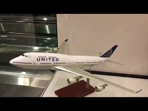 United Airlines Celebrates The Boeing 747 At San Francisco International Airport