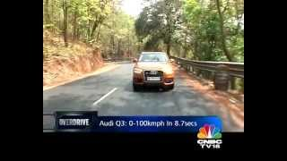 audi q3 in india road test overdrive