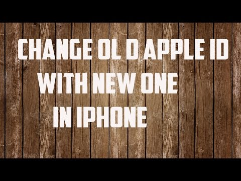 How to change my apple id iphone 6