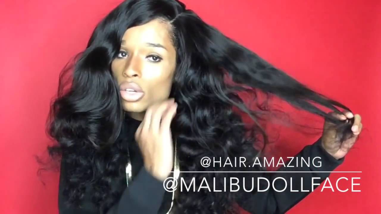Top 7a Brazilian Virgin Hair Loose Wave Hair Weave Amazing Hair