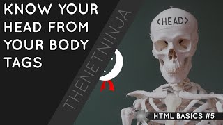 HTML Tutorial for Beginners 05 - Head and Body Tag