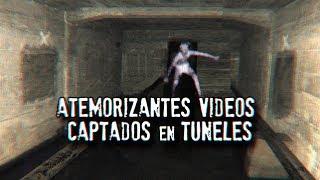 Atemorizantes videos captados en túneles