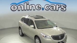 A10112TA Used 2016 Buick Enclave Leather Group FWD 4D Sport Utility Test Drive, Review, For Sale