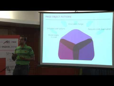 "Patterns of a ""good"" Test Automation Framework, Locators & Data!"