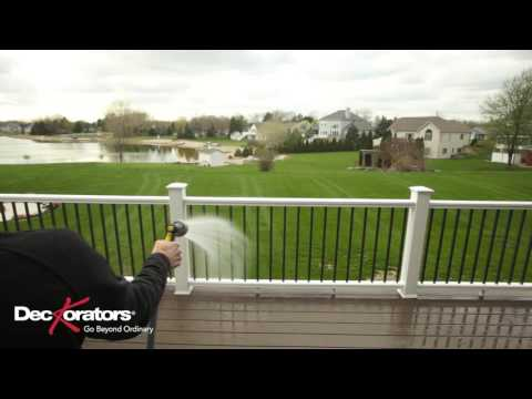 How To Clean Your Composite Railing
