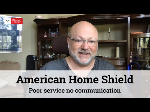 American Home Shield Reviews - Poor Service