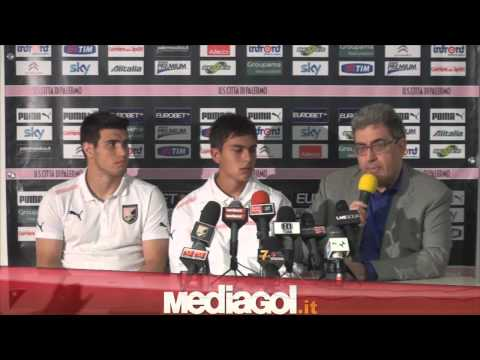 1/2 Paulo Dybala - Palermo Calcio - conferenza presentazione - 21/07/2012 - By Mediagol.it