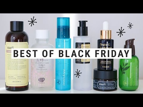 korean skincare BLACK FRIDAY DEALS!!  my fav sites + top recommendations!