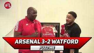 Arsenal 3-2 Watford | Aubameyang is ELITE!!! (Troopz)