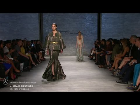 MICHAEL COSTELLO: MERCEDES-BENZ FASHION WEEK S/S15 COLLECTIONS