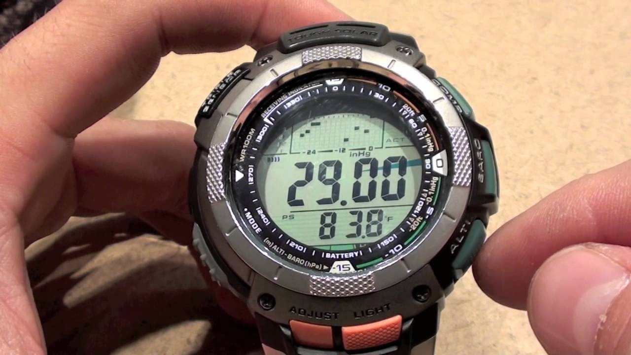 pathfinder paw 1100 review youtube rh youtube com Casio Pathfinder Instruction Manual G-Shock Watch Casio Pathfinder Manual