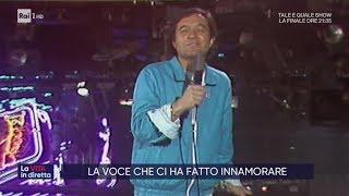 Fred Bongusto, addio al cantante dell'amore - La vita in diretta 08/11/2019