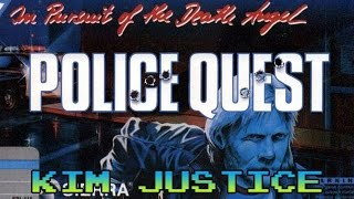 Police Quest 1: In Pursuit of the Death Angel Review - PC/DOS - Kim Justice