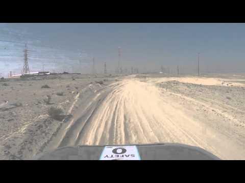 Kuwait rally championships Khiran stage 2..Driven by Henrik Ozsvart 13/02/2016