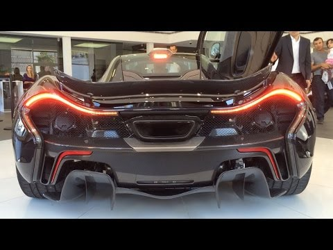 McLaren P1 Startup and Revving at The Collection, Coral Gables, FL
