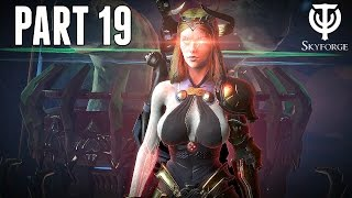 Skyforge Ps4 Walkthrough Part 19 - FIRST GOD FORM MISSIONS (Ps4 Pro Co-Op Gameplay)