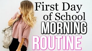 One of Danielle Marie Carolan's most viewed videos: MORNING ROUTINE First Day of School