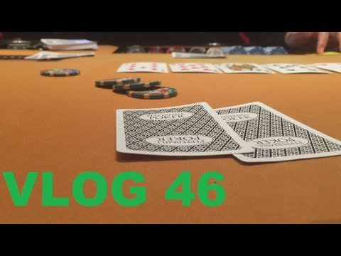 Slow Playing Aces Leads To MASSIVE BLUFF! | Poker Vlog 46