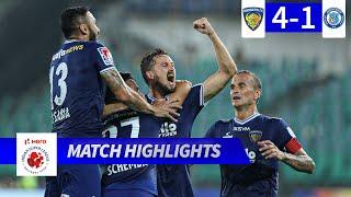 Chennaiyin FC 4-1 Jamshedpur FC - Match 65 Highlights | Hero ISL 2019-20
