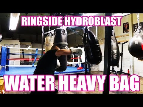 RINGSIDE HYDROBLAST WATER HEAVY BAG REVIEW