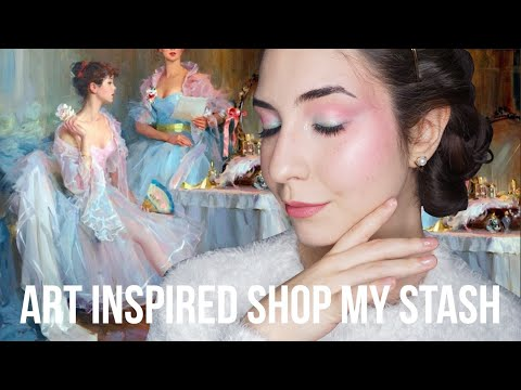 Art Inspired Shop My Stash Ft Russian Ballet & Drama |  Collab With Emily Hanhan