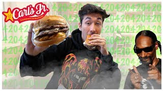 Carl's Jr. CBD Burger Review (1 DAY ONLY)