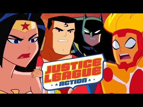 🔴 Watch Now Live: All NEW Justice League Action Shorts! | Episodes 1 - 11 | DC Kids