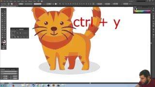 illustrator dersleri 01 - Temel Özellikler
