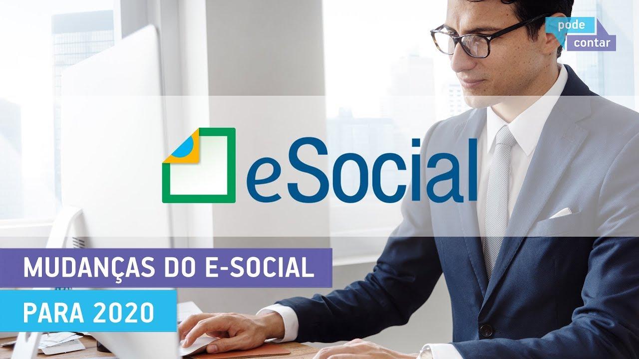 Resultado de imagem para e social 2020