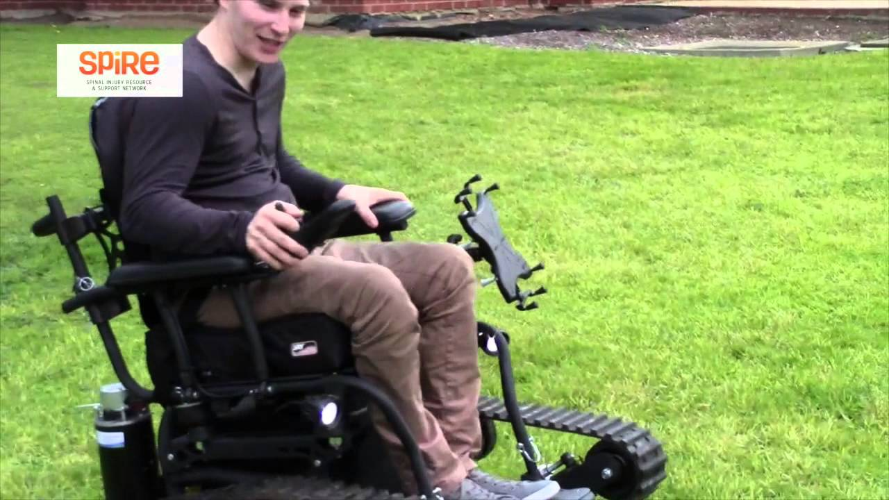 Trackmaster Power Chair Off Road Wheelchair Outback All