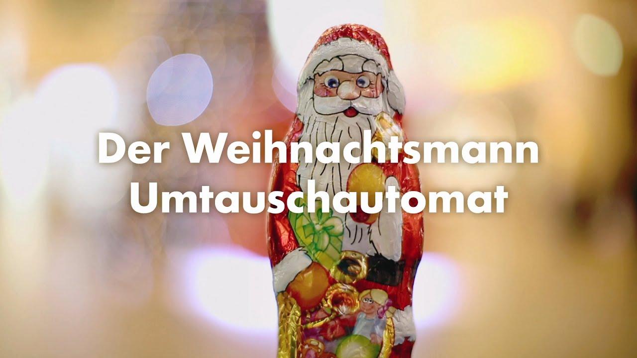 Der Weihnachtsmann Umtauschautomat von RITTER SPORT