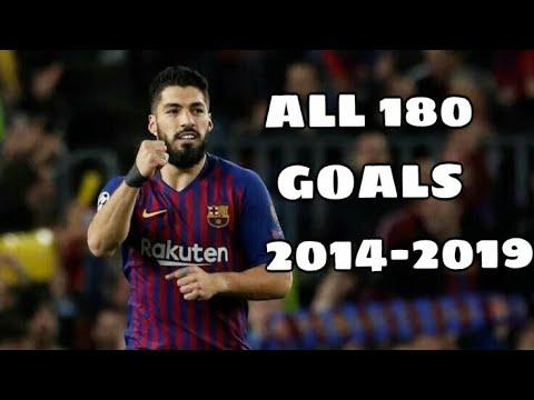 Luis Suarez - All 180 Goals For FC Barcelona 2014-2019  ||HD||