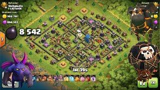 Clash of Clans TH12 v TH12 Lavahound, Balloon, Minion. 3 Star Attack Village Raids TITANS