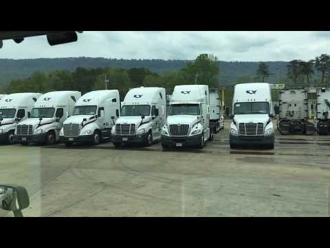 COVENANT TRANSPORT | Tour of Trainer Truck / Orientation