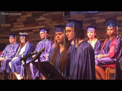 Home school grads urged to stay on the right trach