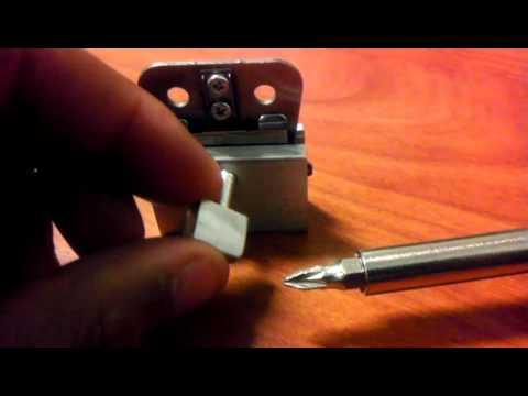 how to adjust t outliner blade