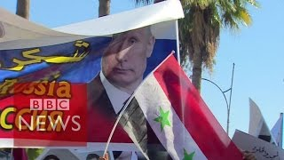 'Thank you, Russia, Thank you, Putin' - BBC News