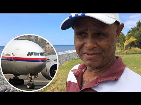 MH370: ''Plane seat'' found washed up on Reunion Island three months ago