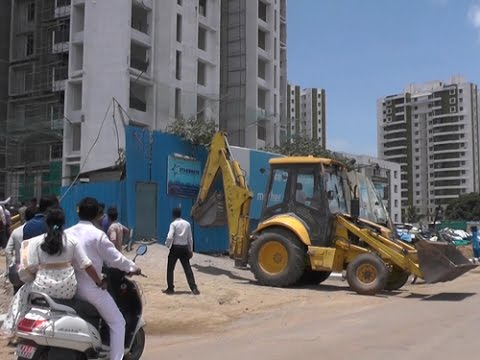 BBMP's demolition drive targets big builder