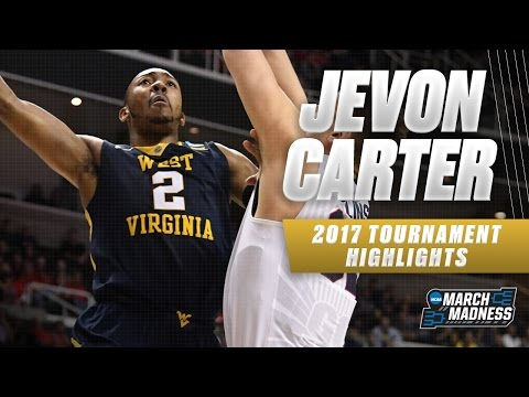 2017 NCAA Tournament - West Virginia's Jevon Carter