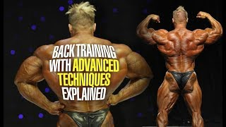 BACK TRAINING WITH ADVANCED TECHNIQUES EXPLAINED