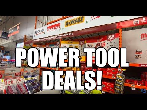 Home Depot Holiday Power Tool Deals - 2019 4K