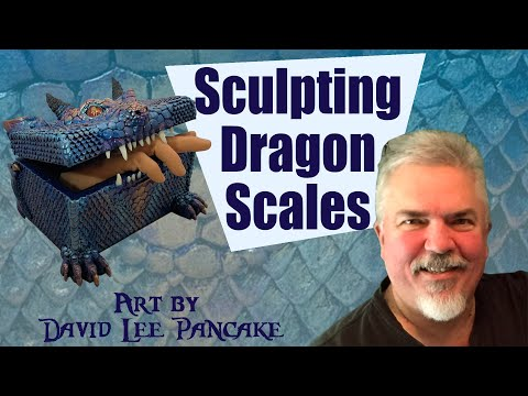 How to Sculpt Dragon Scales