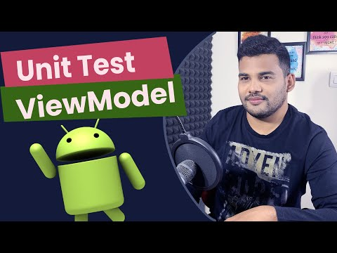 Android ViewModel Unit Test Tutorial