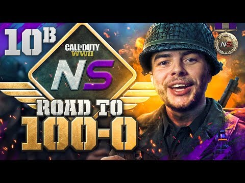 Road to 100-0! - Ep. 10B - Having a Tough Time (Call of Duty:WW2 Gamebattles)